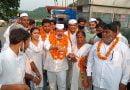 पुलिसकर्मियों का पुराना ग्रेड लागू कराने को कांग्रेस सेवादल द्वारा निकाली जा रही यात्रा का हरिद्वार में स्वागत