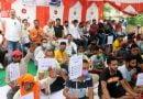 कांग्रेस का भाजपा सरकार के खिलाफ धरना-प्रदर्शन