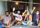 सड़क निर्माण की मांग को ग्रामीणों का अनशन तीसरे दिन भी जारी