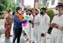 इंग्लैंड दौरे से लौटी युवा क्रिकेटर स्नेह राणा का दून पहुंचने पर जोरदार स्वागत