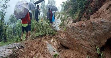 बागेश्वर में भारी बारिश से 50 नाली कृषि भूमि बही, मकानों पर मंडराया खतरा, प्रशासन की टीम गांव रवाना