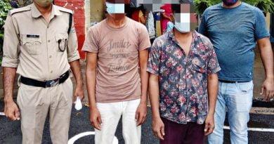 पुलिस को मिली सफलता, अंतरराज्यीय गिरोह के दो अभियुक्त गिरफ्तार
