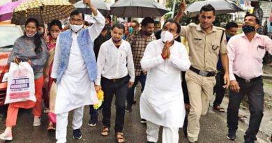 काबीना मंत्री डॉ. रावत ने किया धाधणखेत-कुल्याणी मोटर मार्ग का शिलान्यास