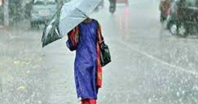 मौसम विभाग की भारी बारिश की चेतावनी