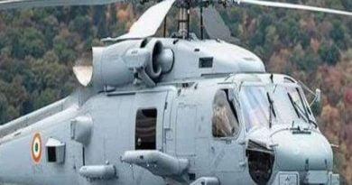 दुश्मनों को पस्त करेगा नौसेना का एमएच-60आर मल्टीरोल आल वेदर हेलीकाप्टर
