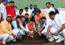 प्रधानमंत्री नरेन्द्र मोदी के जन्म दिवस के अवसर पर सीएम आवास में हुआ वृक्षारोपण