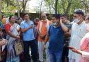 अधिकारियों पर लगाया मनरेगा कार्य में मनमानी का आरोप