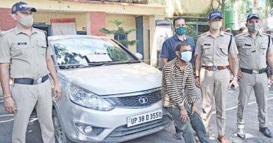 चोरी का पुलिस ने किया खुलासा: कार सहित अन्य सामान के साथ एक गिरफ्तार