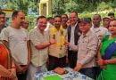 कांडा में कांग्रेस कार्यकर्ताओं ने किया चुनाव प्रबंधन समिति जिलाध्यक्ष का स्वागत