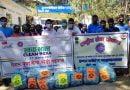 नेहरू युवा केंद्र ने परसुण्डाखाल में चलाया स्वच्छता अभियान
